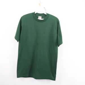 Vintage Jerzees Blank Rockabilly T-Shirt Green M